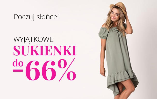 Do -66% SUKIENKI na lato! Poczuj słońce z Avaro.pl