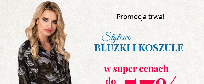 Zakochaj siÄ™ w jesiennych kolekcjach | Bluzki & Koszule do -57% PROMOCJA TRWA >